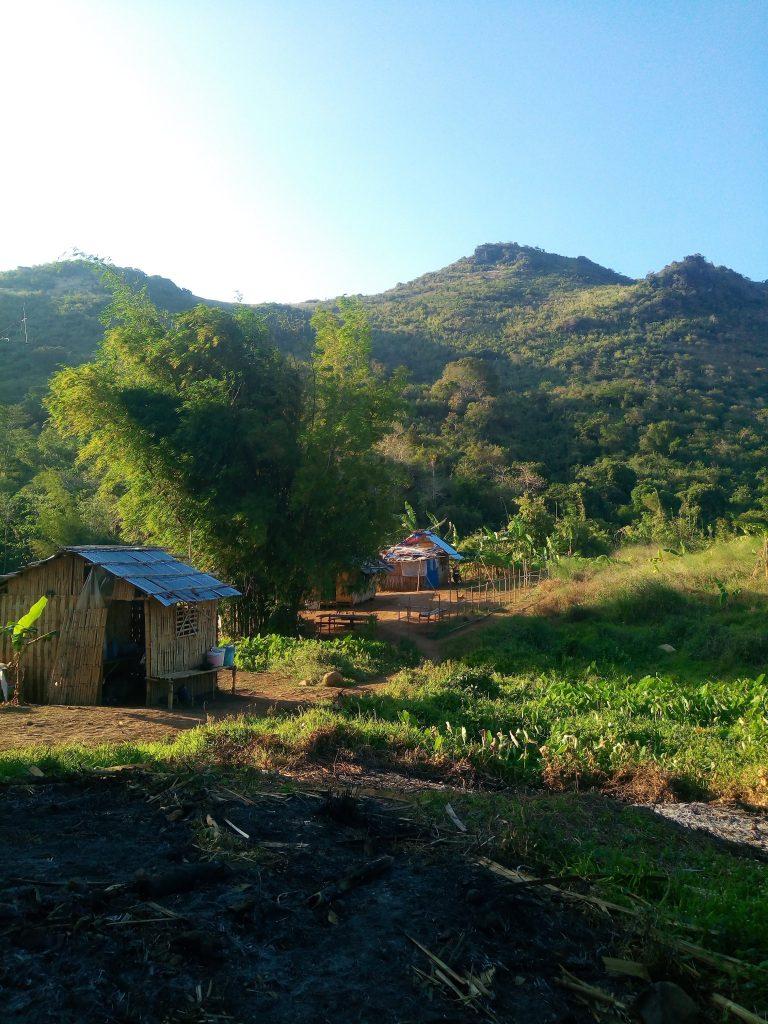 casas de la comunidad indígena