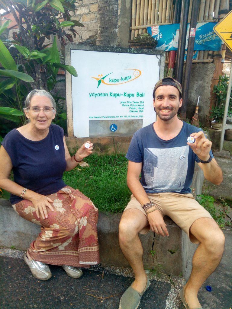 Begoña, la fundadora de la ong kupukupu